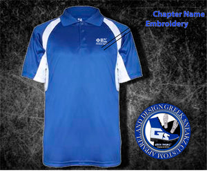 Phi Beta Sigma Cool & Dry Performance Polo