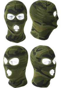 Omega Psi Phi Deluxe Camo 3 Hole Face Mask