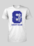 Phi Beta Sigma Line Number T-Shirt (White)