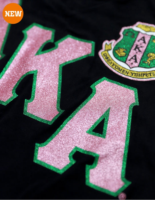 Alpha Kappa Alpha V-Neck Shield T-Shirt