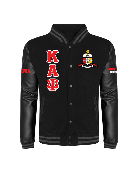 Kappa Alpha Psi Urban Leather Sleeve Customizable Jacket