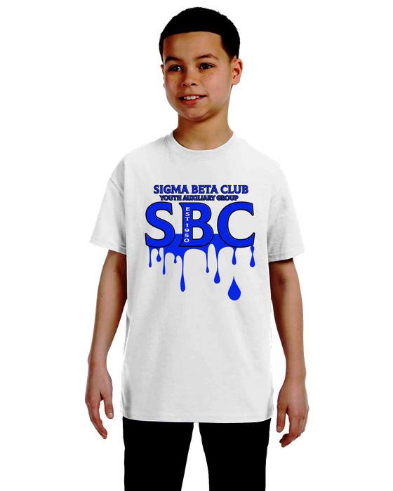 Sigma Beta Club Greek Sneakz Drip Logo