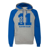 Phi Beta Sigma Royal/Grey Nu-blend Line Hoodie