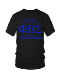 PBS Crew Neck EST 1914 T-Shirts