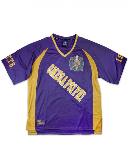 Omega Psi Phi Big Q Football Jersey