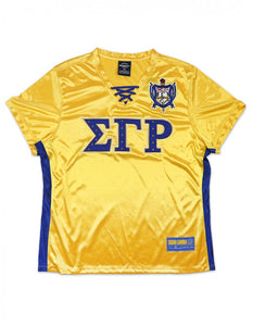 Sigma Gamma Rho Lace String Football Jersey