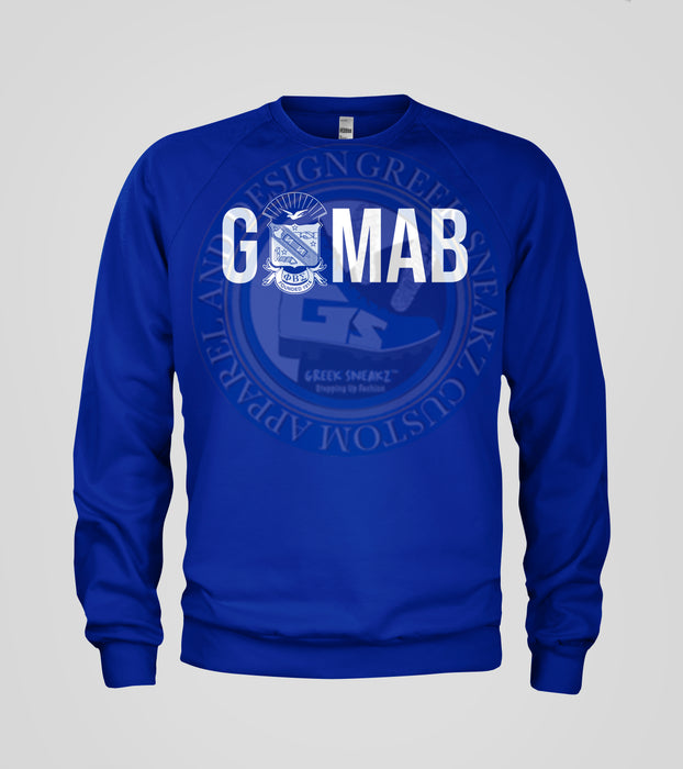 Phi Beta Sigma GOMAB Shield T-Shirt Long Sleeve