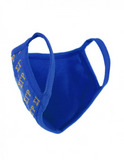Sigma Gamma Rho Greek Letter Face Mask