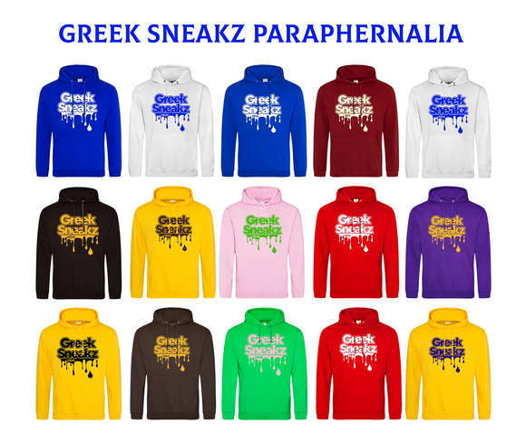 Greek Sneakz Drip Hoodie w/ Founding Year 1914 - 1963