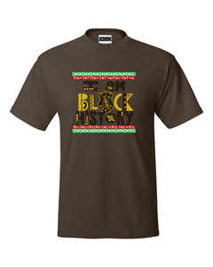 "Iota Phi Theta ""I Am Black History"" T-Shirt Brown"