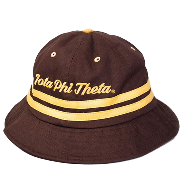 Iota Phi Theta Brown Bucket Hat
