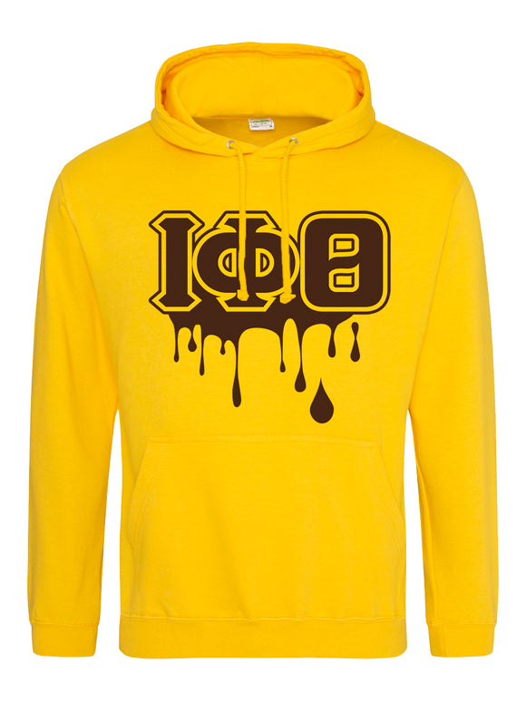 Iota Phi Theta Customized Gold Hoodies