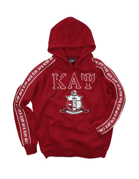 KAPPA ALPHA PSI Letters-Shield Pullover (Sleeve Linen)