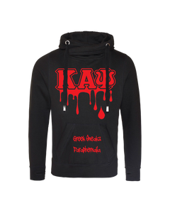 Kappa Alpha Psi Cross Over Neck Hooded Sweatshirt