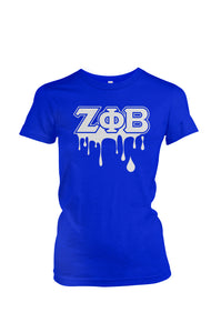 Zeta Phi Beta Drip Collection T-Shirts