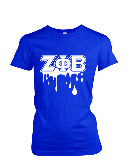 GQS Royal Zeta Drip T-shirt