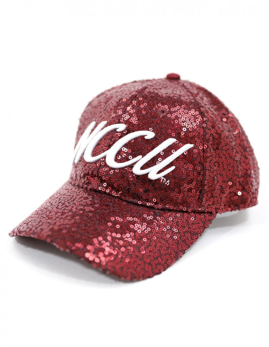 NORTH CAROLINA CENTRAL SEQUINS CAP