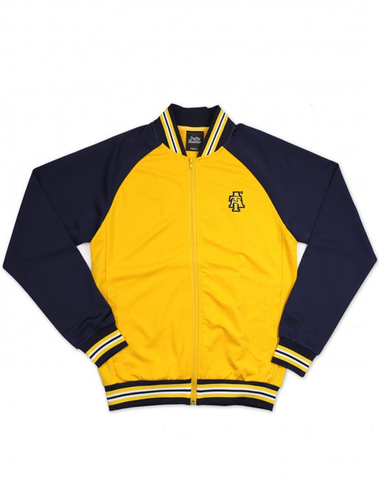 NORTH CAROLINA A&T GOLD / NAVY TRACK JACKET