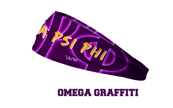 Omega Psi Phi Greek Head Band