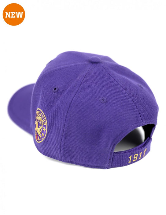 GQS Omega Psi Phi Adjustable Shield Cap