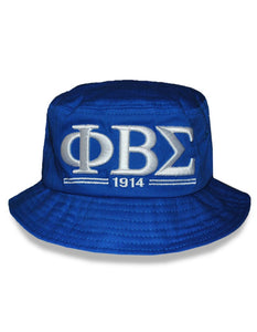 Phi Beta Sigma Shield Bucket Hat
