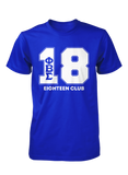 Phi Beta Sigma 12-23 Line Number T-Shirt (Royal)