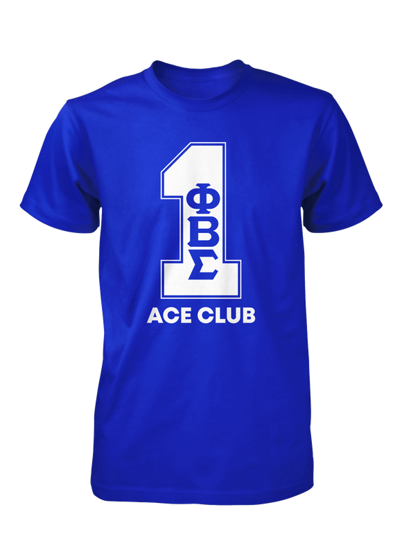 Phi Beta Sigma Line Number T-Shirt 1-11 (Royal)