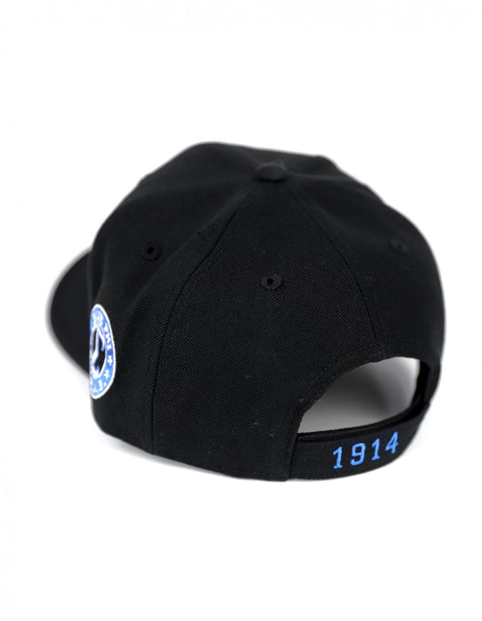 Phi Beta Sigma Adjustable Shield Cap