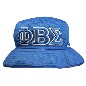 Phi Beta Sigma Embroidered Bucket Hat