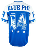 Phi Beta Sigma Rounded Football Jersey