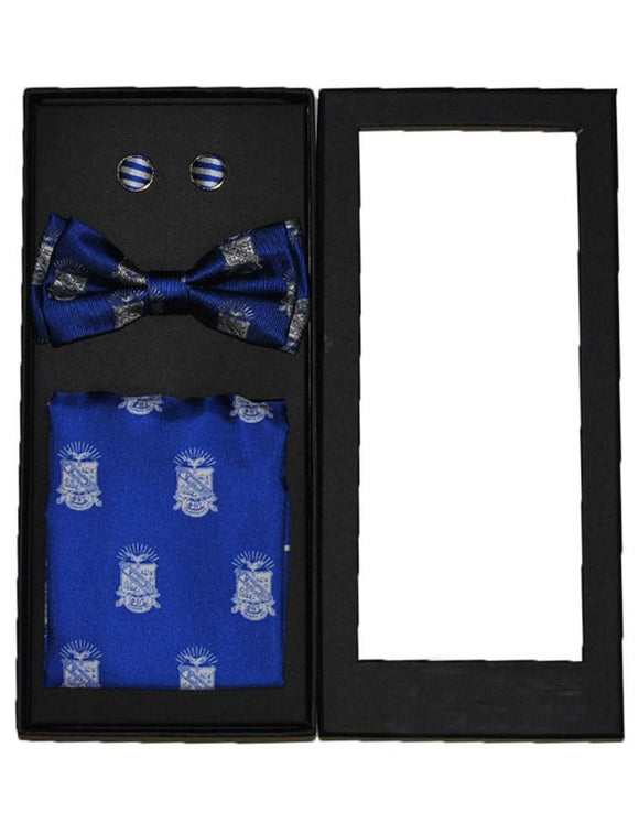 Phi Beta Sigma Bow Tie Set