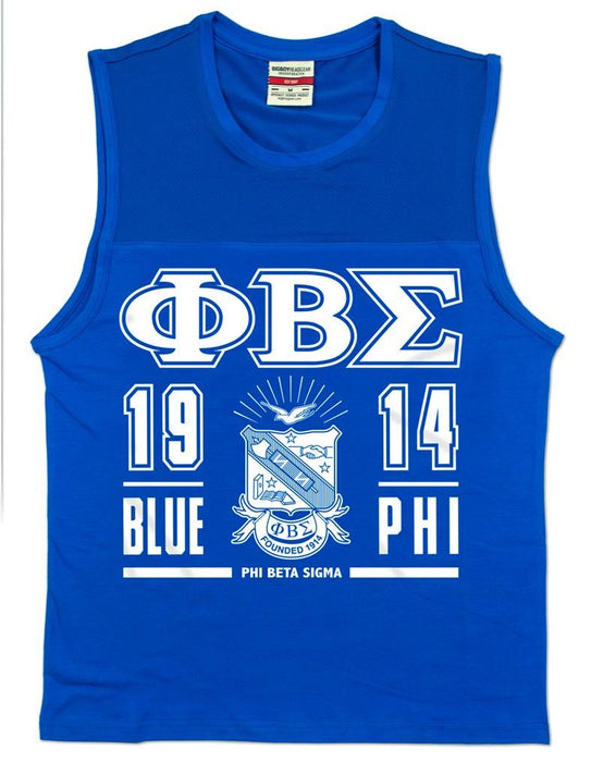 PHI BETA SIGMA SLEEVELESS TEE