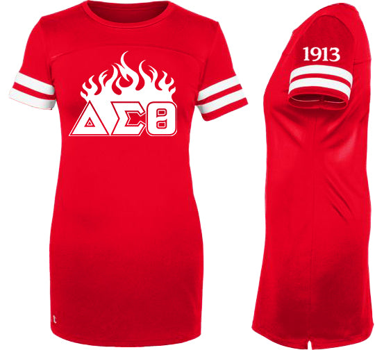 Delta Sigma Theta Customizable Champion Jersey Dress