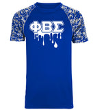 PBS Digi Camo Dry Fit Drip T-Shirt