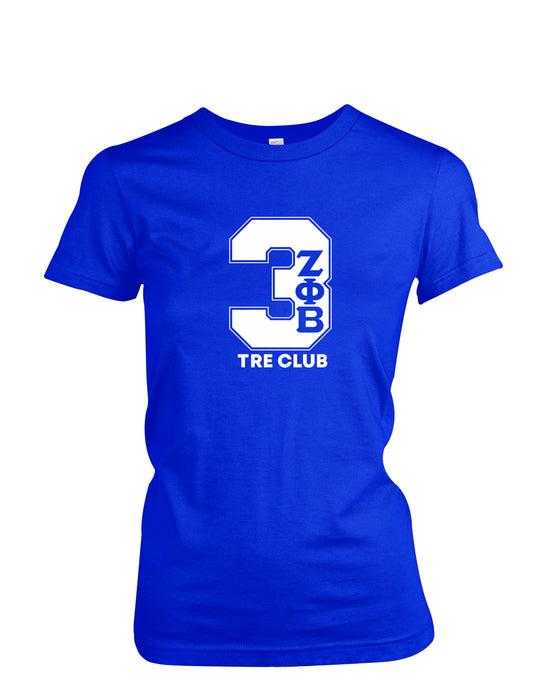 Holiday Sale Zeta Phi Beta Twelve Club T-Shirt