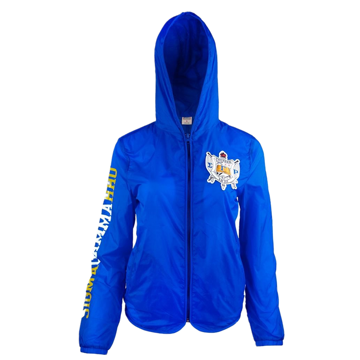 Sigma Gamma Rho Lightweight Shielded Zip Jacket