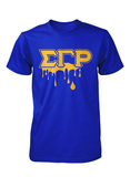 Sigma Gamma Rho Crew Neck Drip Collection T-Shirts