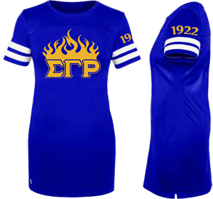 Sigma Gamma Rho Customizable Champion Jersey Dress