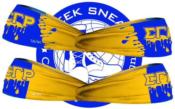 Sigma Gamma Rho Drip Head Band