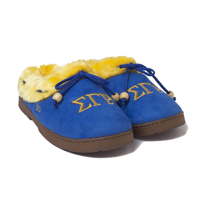 Sigma Gamma Rho Cozy Slippers