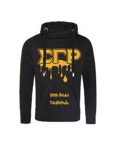 Sigma Gamma Rho Cross Over Neck Hoodie