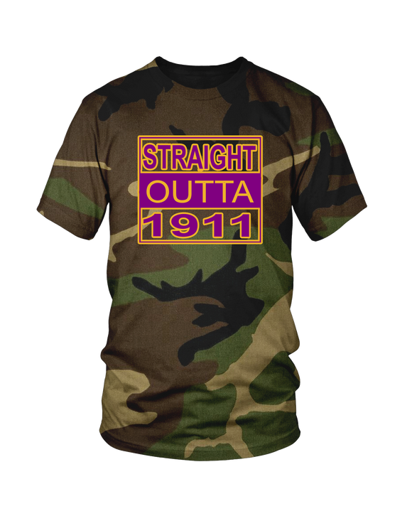 Straight Outta 1911 Omega Psi Phi