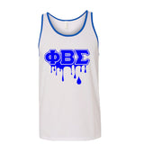 Phi Beta Sigma Tank Top Drip Collection