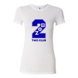 Zeta Phi Beta Line Number T-Shirt Ladies Cut (White)