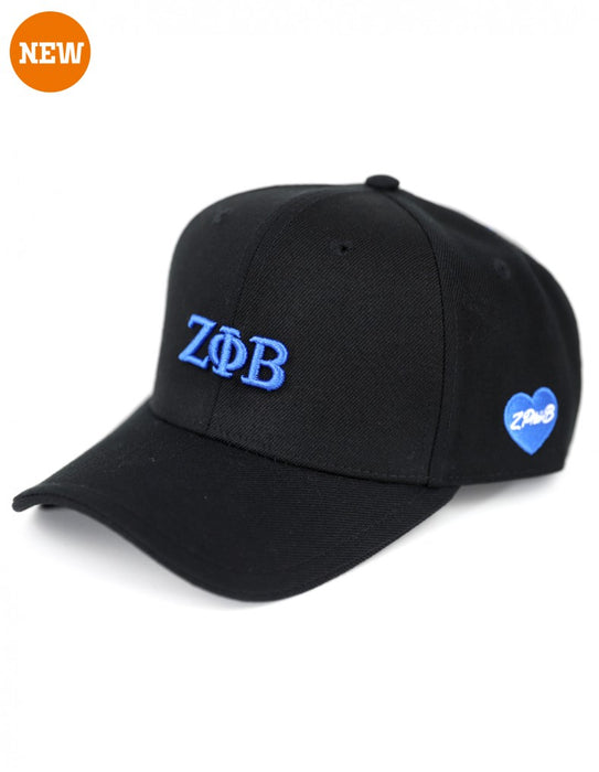 ZETA PHI BETA GREEK LETTER SNAP BACK