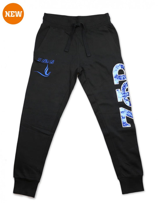 ZPB Sequin Greek Letter Joggers