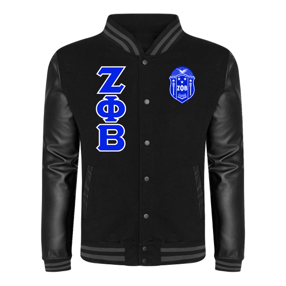 Zeta Phi Beta Letterman Jacket