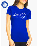 Official Zetas Have Heart T-Shirts