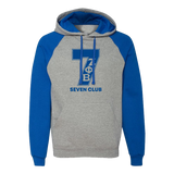 Zeta Phi Beta Royal/Grey Nu-blend Line Hoodie