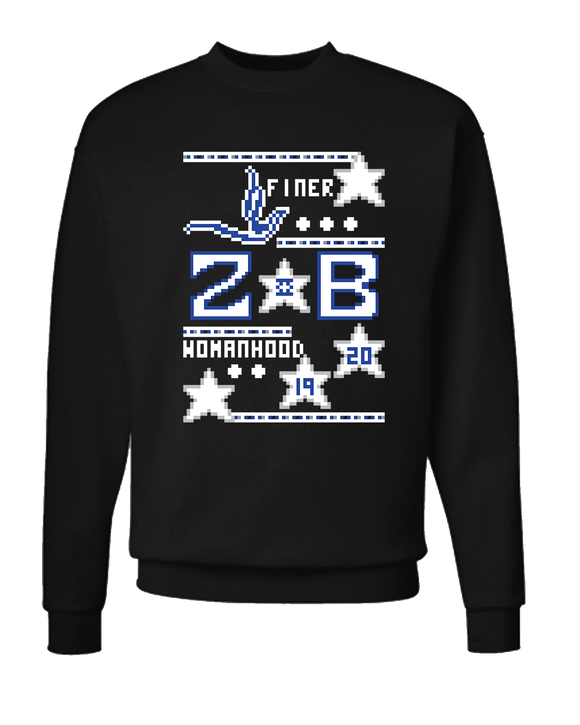 Zeta Phi Beta Ugly Sweater Sweatshirt